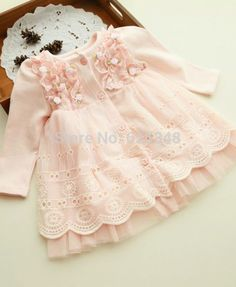 Steady 1-6years Kid Girl Dress Baby Girl Lace Cotton Linen Dress Newborn Toddler Party Holiday Children Casual Sundress Dresses Girls' Clothing