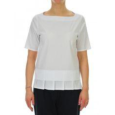 CAMICIA DONNA BIANCO #classic #camicia #bianca #casual #daywear #shoponline #caneppele #trento #brunellocucinelli #giannichiarini #moncler #barba #harriswharf #churchs #lautrechose #rialto48 #ss2017 #woman #collection #leathercrown #madeinitaly