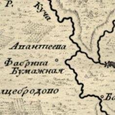 Ивантеевка на старых картах 1766-1985 гг.