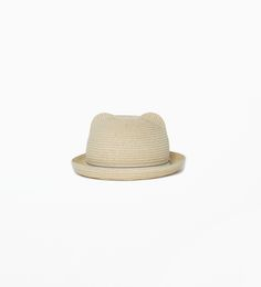 ZARA - KIDS - Hat with ears and ribbon