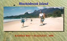 John and Bill reach Ramsay Bay - Hinchinbrook Island National Park - ramsbay_bill-john. Most Visited, Trekking, National Parks, Australia, Island, Spaces, Pictures, Photos, Hiking