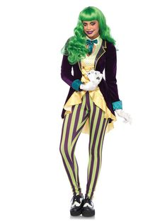 Wicked Trickster Costume Adult