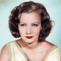 Colorized,  Greta Garbo