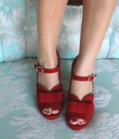 Style Bri-Estela ante rojo #ChieMihara