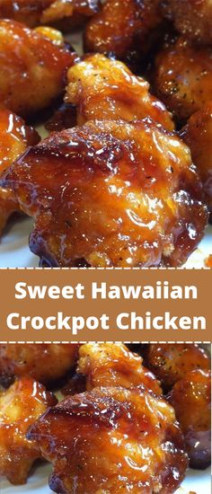 Skinny Recipes, Ww Recipes, Slow Cooker Recipes, Cooking Recipes, Healthy Crockpot Chicken Recipes, Dinner Recipes, Sweet Hawaiian Crockpot Chicken Recipe, Best Chicken Recipes, Chicken