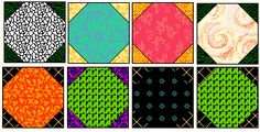 Free Quilt Block : Snowball - ideas for using this free quilt block