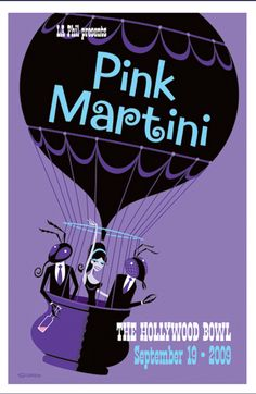 My Pink Martini poster