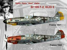 Messerschmitt Bf 109 F4  Hans Hahn Ww2 Aircraft, Fighter Aircraft, Military Aircraft, Luftwaffe, Air Fighter, Fighter Jets, Bomber Plane, Focke Wulf, War Thunder