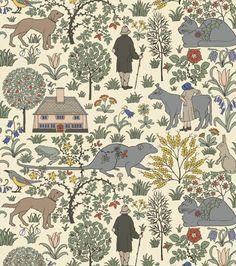 Wallpaper I Walter Crane