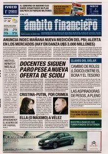 OpinionPublicaSantafesina(ops): diarios de hoy 26 de marzo en la argentina