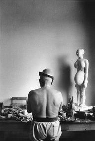Picasso in his studi - Picasso in his studio  super talented and swell people