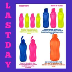 LAST DAY!!!!!!!!!! ECO WATER BOTTLE              Visit website at www.pskitchenhelpers.us Email: info@pskitchenhelpers.us Made with Flipagram - https://flipagram.com/f/162dWN9TABP