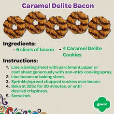 Samoa/Caramel Delite Bacon? Yes please!
