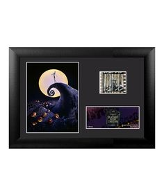 Look what I found on #zulily! Nightmare Before Christmas Spiral Hill FilmCells Framed Wall Art by The Nightmare Before Christmas #zulilyfinds