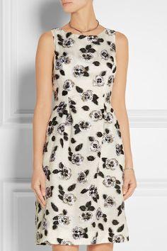 Lela Rose   Fil coupé dress   NET-A-PORTER.COM