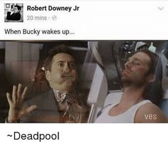 I so seriously hope that when Bucky wakes up, Tony has realized that none of it was Bucky's fault and forgiven him and is not trying to kill him anymore. Can't all my boys please just be friends!