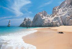 Lover's Beach i Cabo San Lucas, Baja