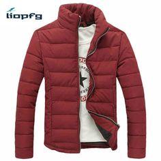 36.11$  Watch here - http://aliszj.shopchina.info/1/go.php?t=32815678938 - DIMUSI winter new men's cotton 2017 thick men's fashion Slim quality cotton jacket high-quality fabric M -3XL  wm55 36.11$ #aliexpress