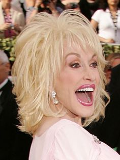 hairstyles dolly parton | Celebrity Hairstyles From The Oscars - BeautyRiot.com - Dolly Parton ...
