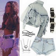 """Ariana Grande """"Into You"""" Music Video outfit Ariana Grande Music Videos, Ariana Grande Outfits, Teen Fashion, Fashion Outfits, Look Con Short, Mode Chanel, Summer Outfits, Cute Outfits, Mode Kpop"""