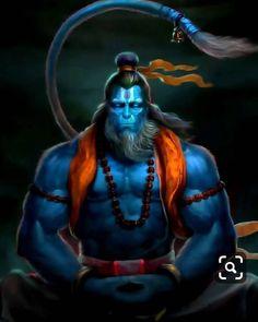 Rudrarup hanuman wallpaper by mayankPatadia - - Free on ZEDGE™ Hanuman Pics, Hanuman Chalisa, Hanuman Tattoo, Angry Lord Shiva, Hanuman Ji Wallpapers, Arte Peculiar, Lord Shiva Hd Images, Hanuman Images Hd, Lord Shiva Hd Wallpaper