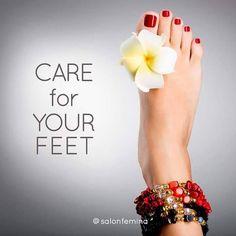 #SalonFemina #DefiningBeautyWithStyle #Pedicure #CareForYourFeet http://ift.tt/1jZyJLT