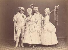 Mr Grovesnor, Countess Hanna Erdödy, Baron Lotzbeck, Countess Nesty Pallavicini
