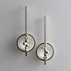 Morphology Earrings I. Sterling silver. £150