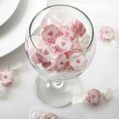 """Hochzeitsbonbons """"Just Married"""" pink 50 Stück – Gastgeschenk Hochzeit – Candybar! Hochzeit"""