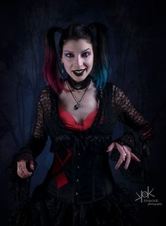 Amazing shots and edits by SpirosK photography Always for my 3 Glaufx Garland 3 3 Harley Quinn, Garland, Halloween Face Makeup, Shots, Romantic, Cosplay, Amazing, Photography, The Moon