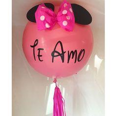 Hi Minnie! #inglobspecials . . . . #globos #balloons #bigballoons #pink #minnie #minniemouse #mimi