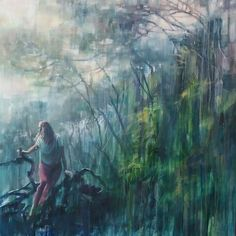 Lost And Found (2020) painting by Karen Wykerd | StateoftheART Online ART Gallery