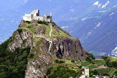 Suiza - Uno de los veintiséis cantones de Suiza que están situados en la parte sudoeste del país es el cantón de Valais