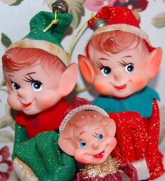 Vintage 1960's Christmas Pixie Knee Huggers | socal72girl | Flickr