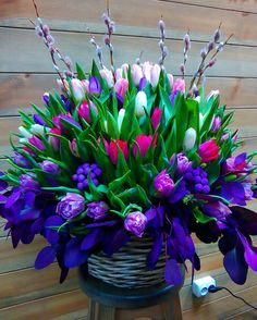 See 40 photos and 6 tips from 30 visitors to Florist. Tulips Flowers, Flowers Nature, Flower Pots, Planting Flowers, Beautiful Rose Flowers, Romantic Flowers, Amazing Flowers, Blue Roses Wallpaper, Flower Phone Wallpaper