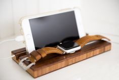 Handcrafted Apple Watch Dock $35 Ships in 1-2 Days