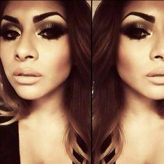 #ShareIG Instant Drama  __________________________ •Chocolate Dipbrow Pomade - Brows• Stripdown & Myth - Lips• Anastasia Contour Palette• •Goldiluxx Pigment - @Sugarpill Cosmetics Cosmetics • Hair & Makeup Addiction brushes• __________________________