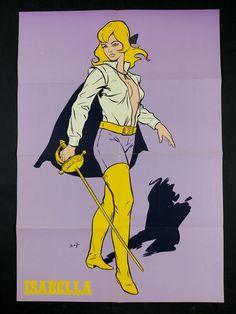 "Angiolini, Sandro - poster ""Isabella"" (1970) - W.B."