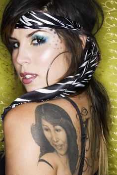 Kat Von D would be a dream come true to get a tattoo by her