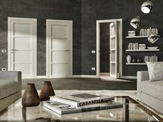 Modern massive essence doors for precious houses
