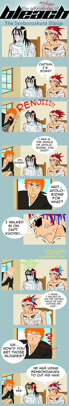 Bleach Mishaps by Timekeeper101