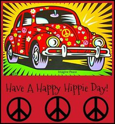 ➳➳➳☮American Hippie - Have a happy hippie day!