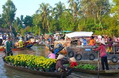 Cai Be Floating Market Full Day Tour See rice fields and explore the daily life of Mekong Delta people. Experience a floating market and immerse yourself in the lively atmosphere and enjoy fresh food in the heart of the Mekong. Discover how coconut candy and crispy rice popcorn are made and enjoy traditional southern Vietnamese folk music.This full-day trip to Cai Be Floating Market from Ho Chi Minh City is ideal for those who are short of time, but want a great overview of ty...