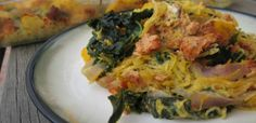Sausage Spaghetti Squash Bake: If you double the meat it is especially good, and is the only way my husband will eat it.