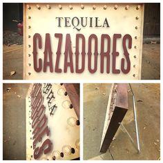 Logo marquee signs, logo art, logo signs, tequila, custom signs, custom metal work