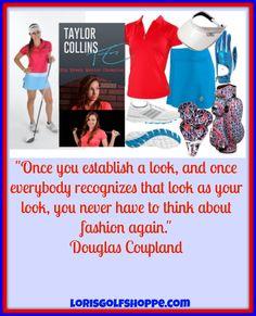 Cool fashion tip from Douglas Coupland! #golf #fashion #ootd #lorisgolfshoppe