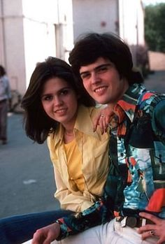 Donny and Marie Osmond.