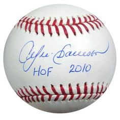 Andre Dawson Autographed MLB Baseball HOF 2010 PSA/DNA . $69.00. This is an Official Major League baseball that has been hand signed by Andre Dawson. The autograph has been certified authentic by PSA/DNA and comes with their sticker and matching certificate.