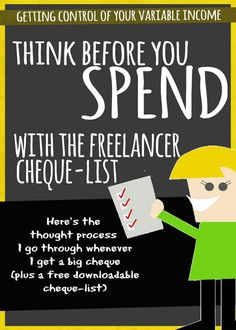 Having money is great, but as a freelancer there's a lot of things to think about before spending it. luckily here's a checklist. Free Courses, Things To Think About, Posts, Thoughts, Blog, Messages, Blogging, Tanks, Ideas