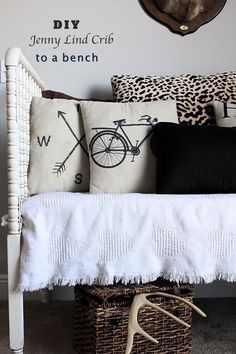 DIY Jenny Lind Crib